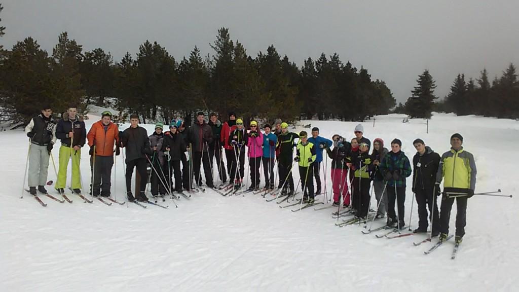 Ski de fond atelier mardi