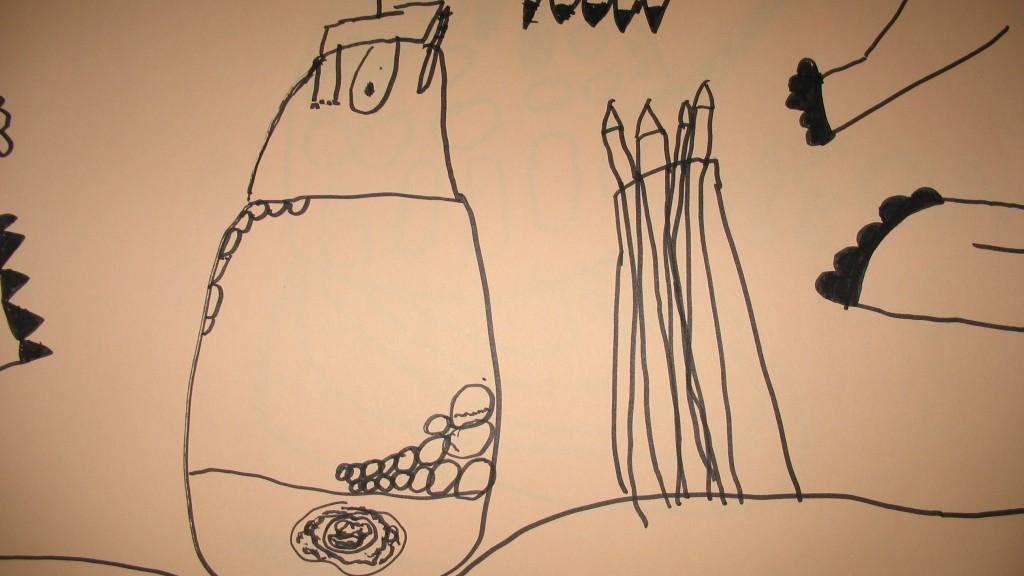 dessin de la couveuse