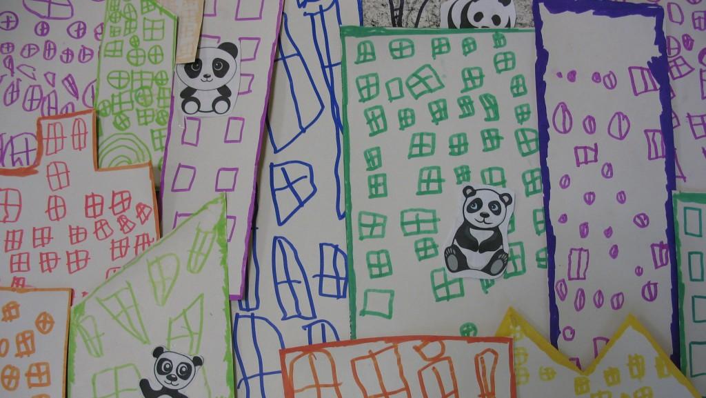 Panda Ville  détail