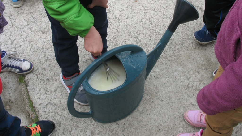ajouter 9 litres d'eau