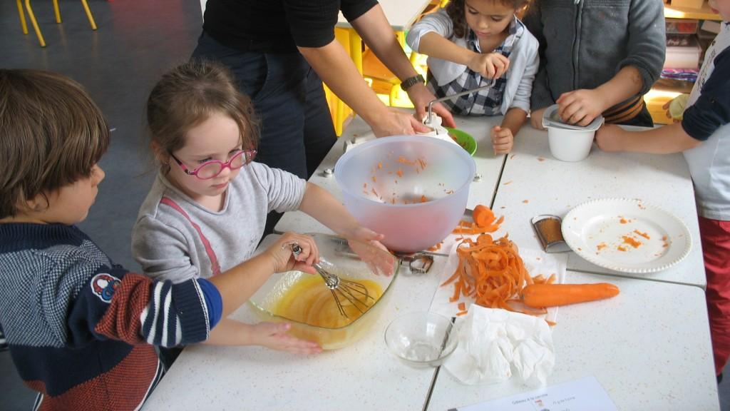 gâteau à la carotte 2