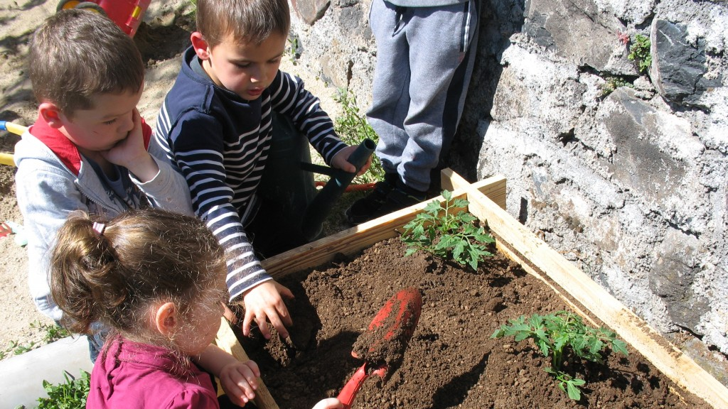 nouveaux bacs de jardinage