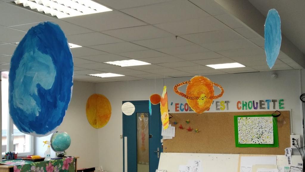 espace dans la classe